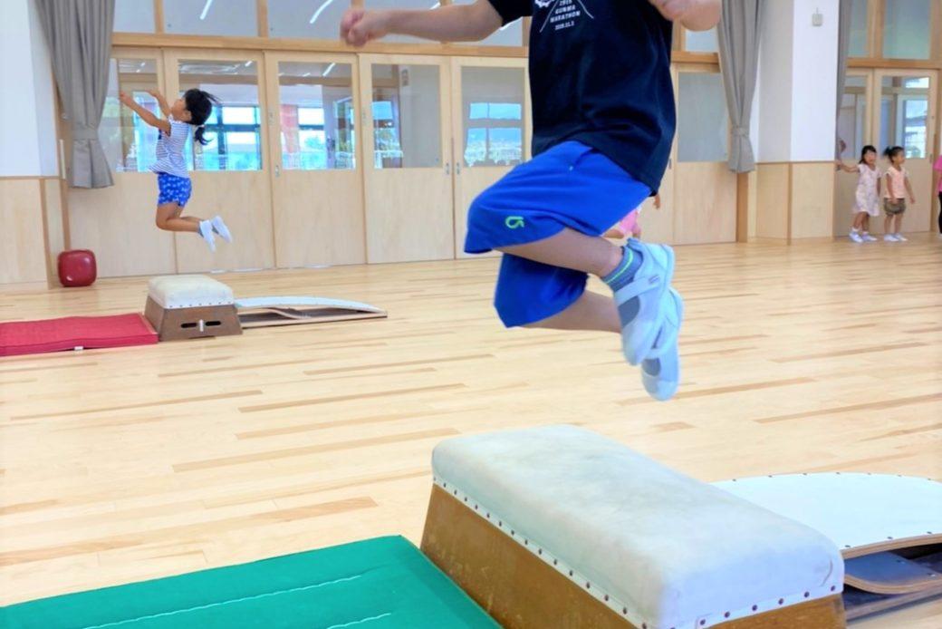 跳び箱練習スタート!