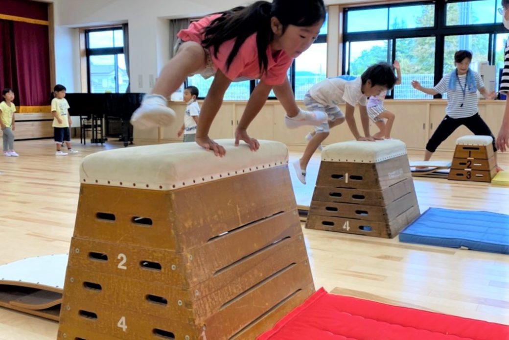 跳び箱練習 ~始まり~