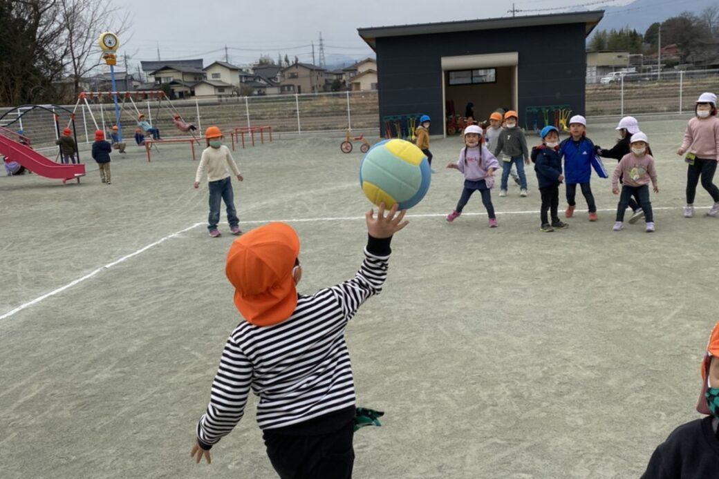 ドッチボール 練習